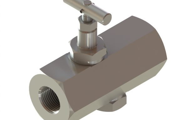 In-line Flow Control Valves with Bypass Check